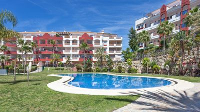 Photo for Apartment with sea view and Golf between Marbella and Fuengirola
