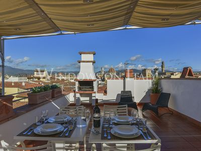 Photo for Pitti Terrace - Florence center near Palazo Pitti 1 bdr with panoramic terrace