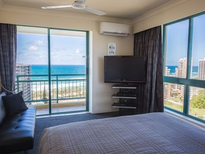 Photo for STUNNING 5 STAR CROWN TOWERS OCEAN-VIEW 2 BEDROOM 2 BATH FREE WIFI & PARKING INC