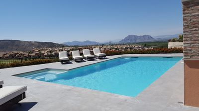 Photo for Front Line Villa On La Finca Golf Resort, Private Pool, Jacuzzi, Great Views