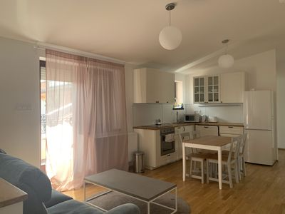 Photo for Palace district city centre newly built 2 bedroom duplex with terrace