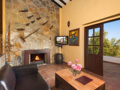 Photo for Rural Cottage with adjoining pool nestled against 'Sierra de las Nieves' Park