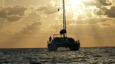 Photo for Charter a private catamaran to sail you to the most beautiful spots in the world