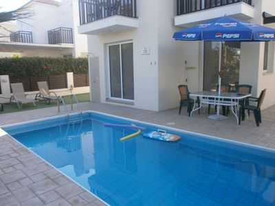 Photo for Pluto Villa - between sea and Pernera, pool, wifi, for a relaxed family Holiday