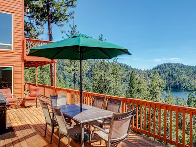Photo for 'Two Lakes View Lodge' in Coeur d'Alene w/ 3 Decks