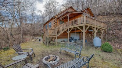 Photo for Bearadise-Charming 3/3 Cabin with Views and Hot Tub