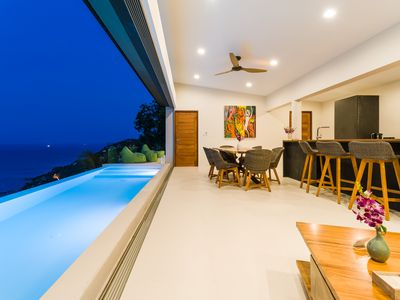 Photo for Property gate villa | Koh Samui | New 2BR Sea View Chaweng Noi