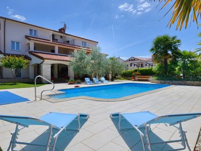 Photo for Villa Hope - Apartments with Shared Pool / Two-Bedroom Apartment Hope V with Balcony and Pool View