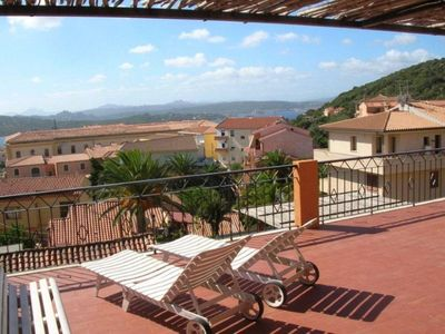 Photo for La Maddalena, Attic with a large panoramic terrace