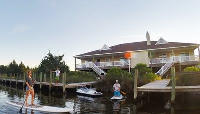 Photo for NEW LISTING: THE SEA STAR - Canal Front, pool, large decks, docks and boat ramp