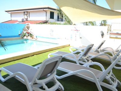 Photo for FAMILY RESIDENCE with Wi-Fi and Pool, near the sea