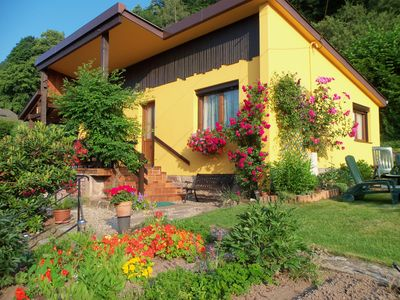"""Photo for Rent cottage """"birds"""" small cottage very flowery"""