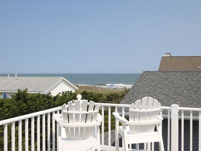 Photo for Great OCEAN VIEWS & STEPS TO BEACH, boardwalk, playground & 2 blocks to the center of town