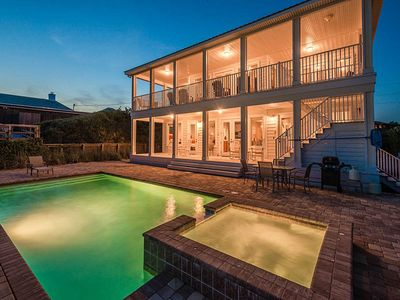 Photo for Beautiful Beach Font Home in 30A with Private Pool!
