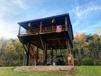 River Front Cabin On The Banks Of The White River, Amazing View!!