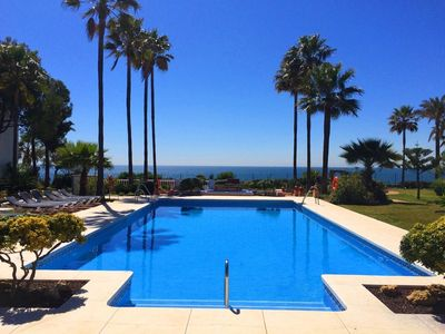 Photo for First Line Beach Luxury Apartment With Sea Views