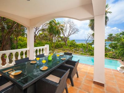 Photo for Private waterfront Luxury Villa with Pool