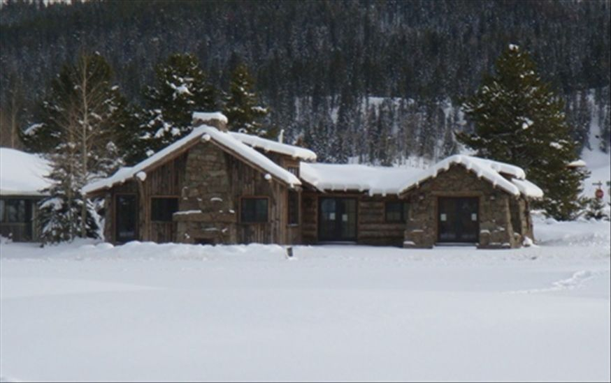 luxurious log and stone vacation rental on homeaway homes in big sky Big Sky Trail Map