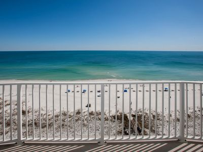 Photo for Regency Isle, Beach Front condo, Huge Balcony, Spacious Floorplan, 2 pools.