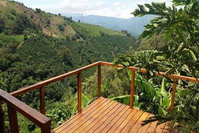 Decks with exquisite mountain views