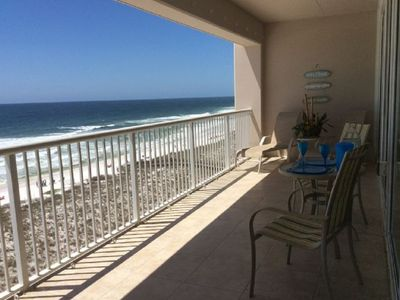 Photo for Gulf Front 2bed/2bath that sleeps 8! Right on the white sands of Navarre Beach!