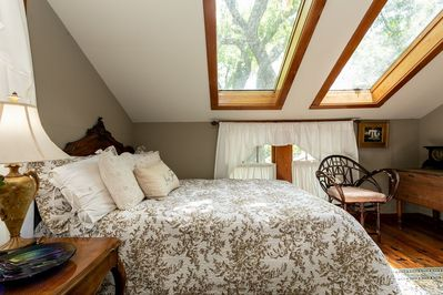Plentiful natural light can be experienced year round