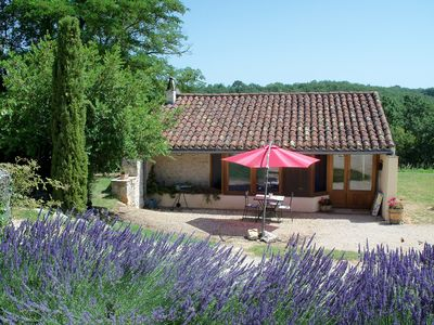 Photo for Charming authentic cosy cottage in the heart of the Quercy countryside