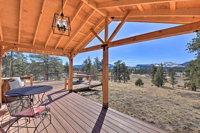Gorgeous mountain views await at this secluded Colorado vacation rental!
