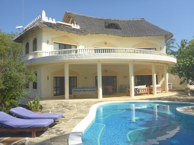 Photo for Beatiful villa near beach in 2 Acres With Pool, BBQ, Sundowner terrace and wifi