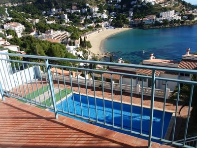 Photo for ROD. Apartment with incredible views of the Small Bay of Canyelles Petites.