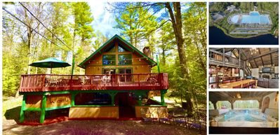 Photo for ⛰⛱ ❤️Mt. Maplewood Lodge⛰Poconos Cabin⛱Lake Naomi⛷Game Room★Hot Tub★