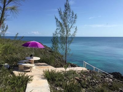 Photo for TOP RATED & UNIQUE! Great Snorkeling, Caves & Lookout Tower right on premise