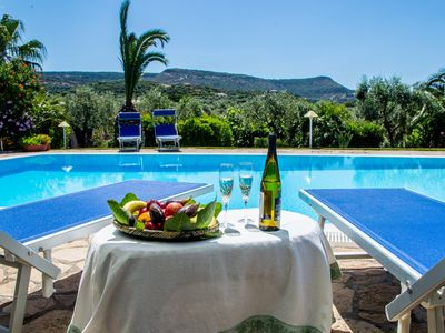 Photo for Alghero Villa Smeralda, with independent swimming pool for 9 people