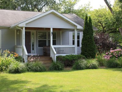 Photo for 3 Bedroom Cottage- walking distance to beach & downtown New Buffalo- Come Enjoy!