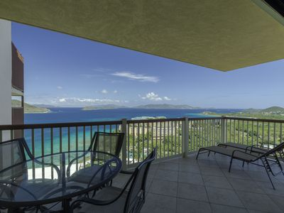 Photo for Virgin Island View II - Remodeled, Wrap Around Balcony with Magnificent Views!
