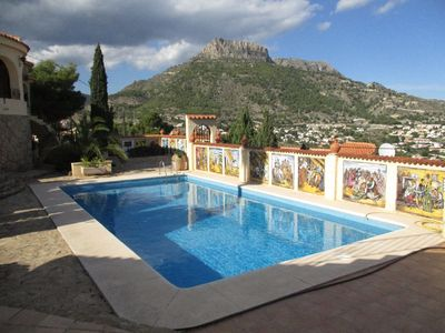 Photo for Apartment No. 3 with amazing sea views, communal BBQ area, WiFi, pool