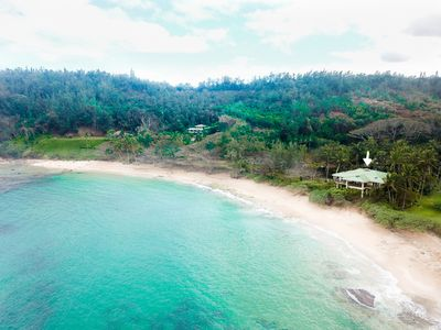 Photo for Beautiful 5 Bedroom plus loft for 12 Luxury Beachfront Estate on Over 2 Acres!
