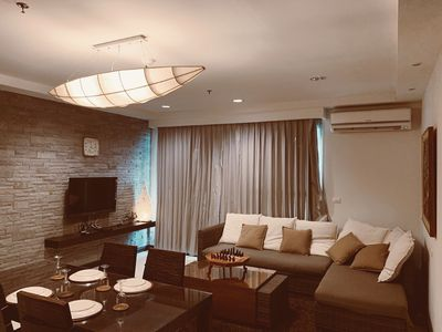 Photo for Cozy 2BR Apartment- 1Min to BTS Near Siam Paragon Platinum Fashion Mall Baiyoke
