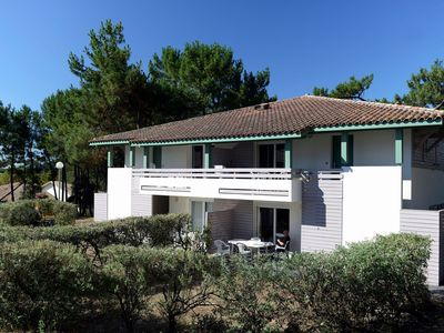 Photo for Cozy apartment with a terrace, just 350 m. from the beach