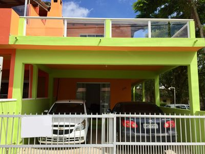 Photo for Casa Barata 50mts from the Beach of Canto Grande - With air conditioning and internet!