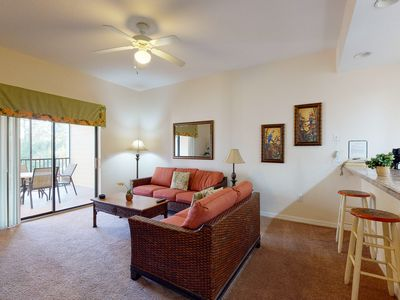 Photo for 1st floor condo w/ patio, shared pools, gym, limited-mobility access, & sauna