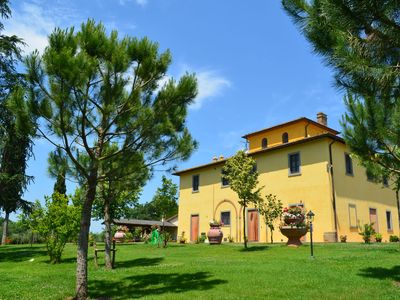 Photo for Beautiful old villa with a garden and private swimming pool in the Etruscan countryside