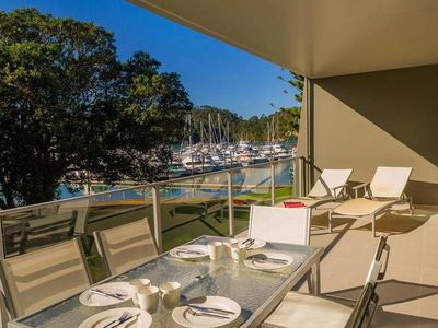 Photo for Apartment overlooking the Marina in Whitianga, close to the town centre, cafes and restaurants