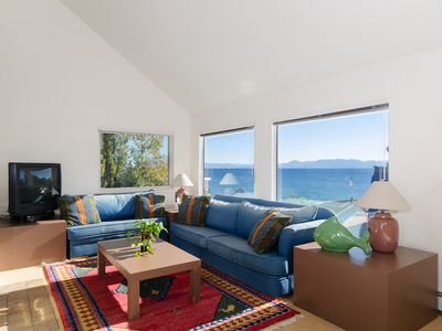 Photo for Lakeview condo with amazing lake and mountain views, 2 bed/2 bath, slps 6