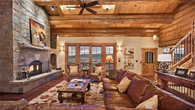 Photo for Panorama Lodge North: Luxury Log Home with Hot Tub, Elevator, Views (5BR)