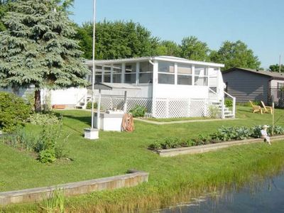 Photo for All sports lakefront,sun porch, bonfire pit,pontoon rental available during stay