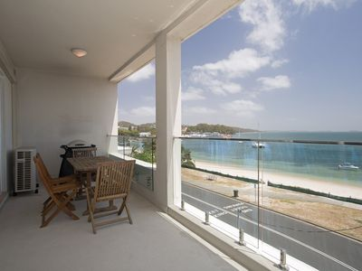 Photo for 7 'Bayview Towers', 15 Victoria Parade - stunning unit with fabulous views
