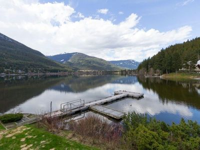 Photo for Lakeside Retreat w/ Private Dock by Harmony Whistler