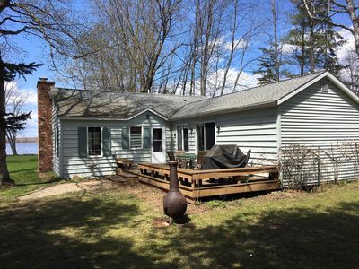 Photo for Charming Big Manistique Lake Cottage - In Michigan's Beautiful Upper Penninsula!