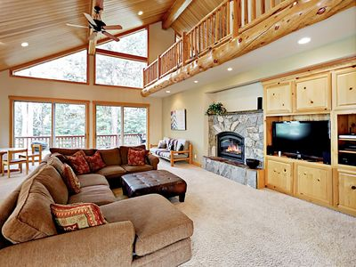 Living Area - Welcome to Truckee! This spacious home is professionally managed by TurnKey Vacation Rentals.